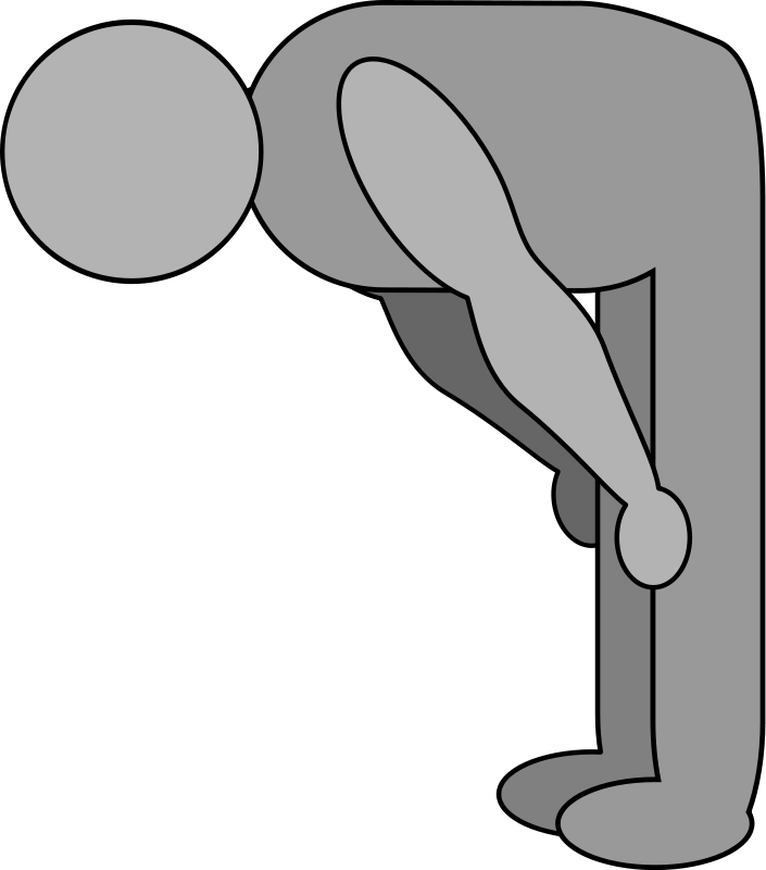 Bowing Clipart.
