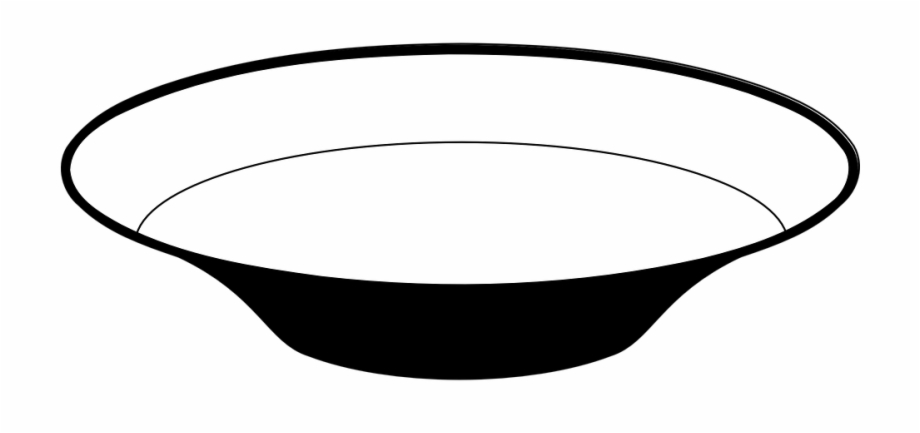 Free Bowl Black And White Clipart, Download Free Clip Art.