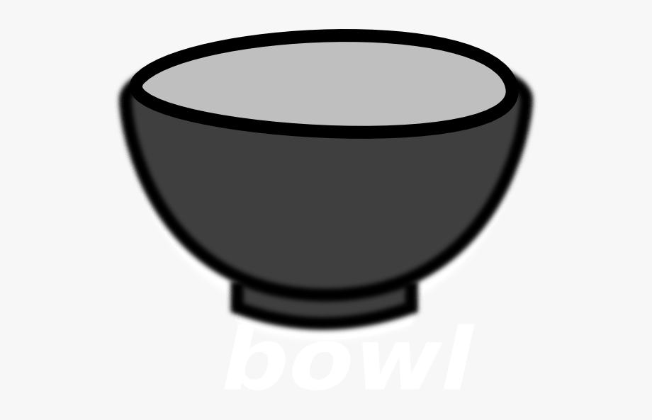 Empty Cereal Bowl Clipart.