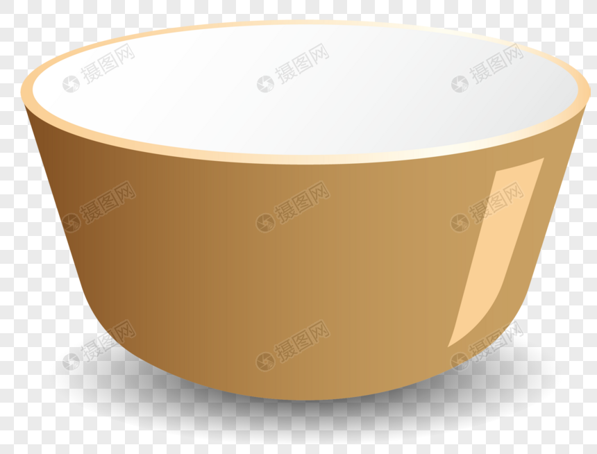 Reflective shadow cartoon bowl png image_picture free download.