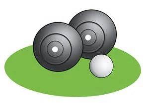 Lawn Bowling Clip Art.