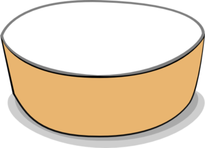 Cereal Bowl Clipart.