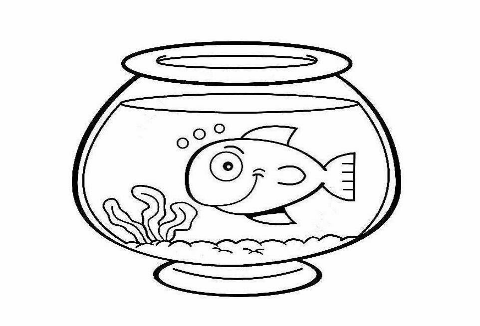 Fish bowl cat and fish in bowl clip art a free graphic from pets 2.