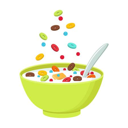 2,519 Cereal Bowl Stock Illustrations, Cliparts And Royalty Free.