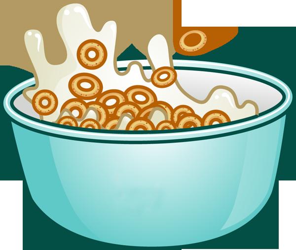Clip Art of Breakfast Foods.