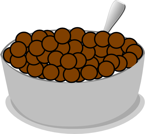Bowl+spoon+cereal Clip Art at Clker.com.