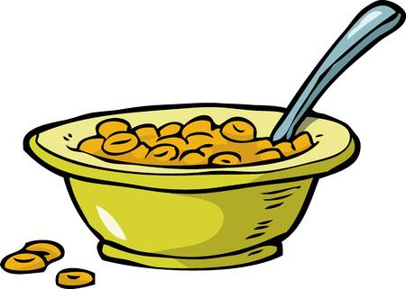 2,519 Bowl Of Cereal Stock Illustrations, Cliparts And Royalty Free.