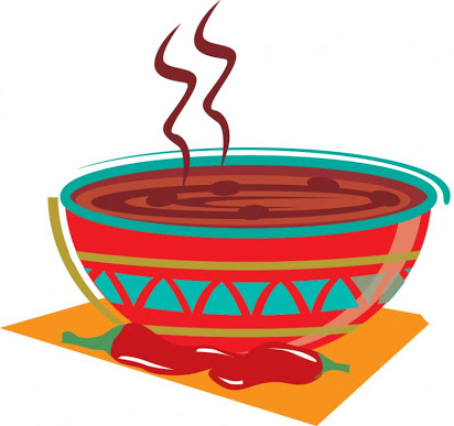 Free clipart chili pot.