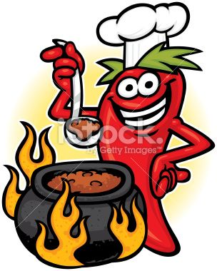 Pot Of Chili Clipart.