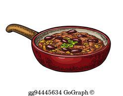 Chili Bowl Clip Art.