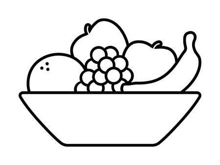 10,333 Fruit Bowl Stock Vector Illustration And Royalty Free Fruit.