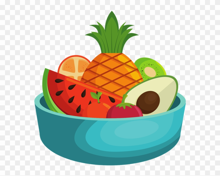 Fruit Bowl Clipart (#1965875).