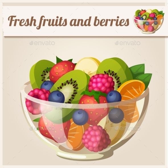 Fruit and Berries Bowl.