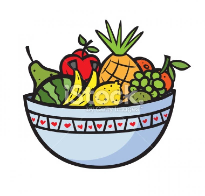 9+ Fruit Bowl Clipart.