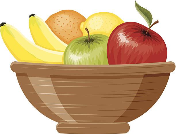 Best Fruit Bowl Illustrations, Royalty.