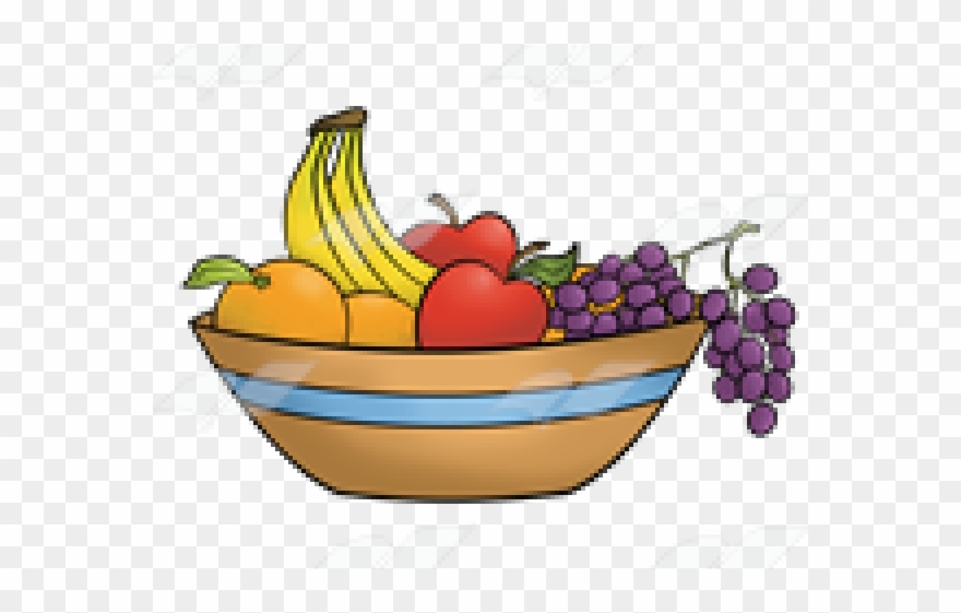 Bowl Of Fruits Transparent Clip Art.