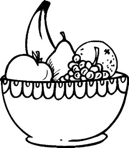 Fruit Salad Clipart Black And White.