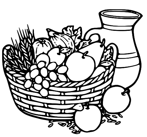 Fruit And Veg PNG Black And White Transparent Fruit And Veg.