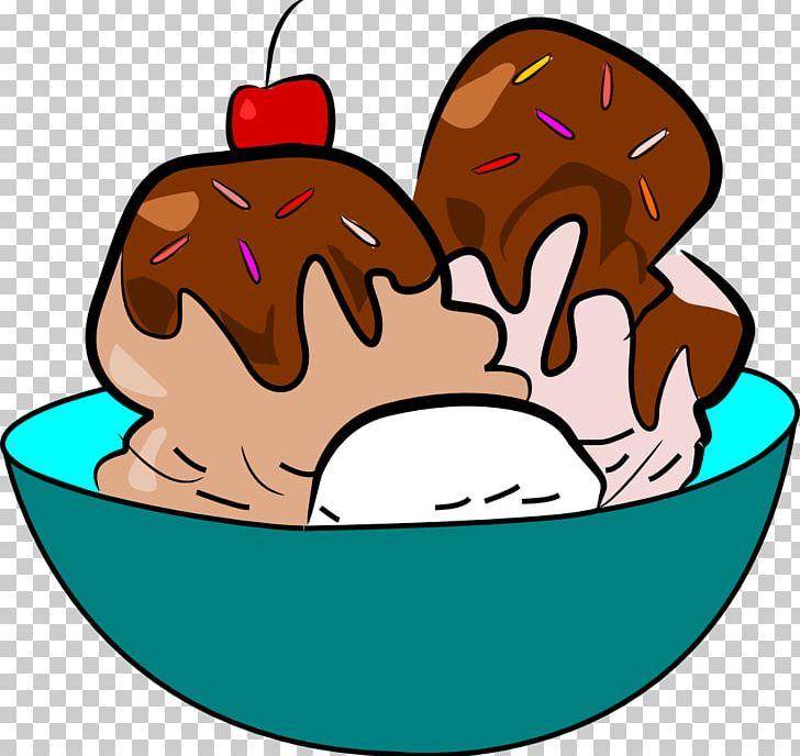 Ice Cream Cone Sundae PNG, Clipart, Artwork, Bowl, Chocolate, Cream.