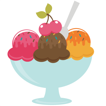 Bowl Of Ice Cream SVG file for scrapbooking free svgs free svg files.