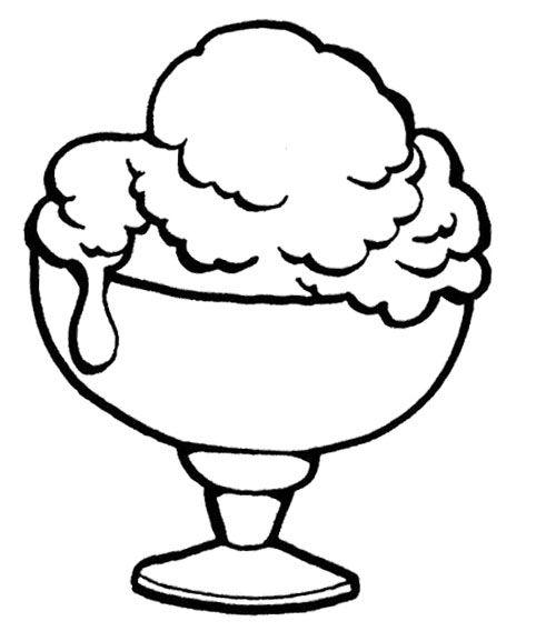 Bowl Clipart Ice Cream.