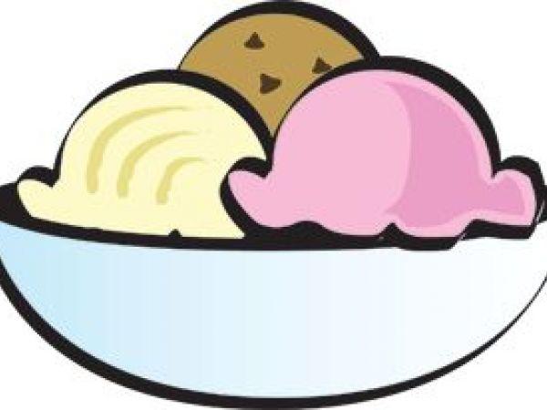 Bowl Of Ice Cream Clipart.