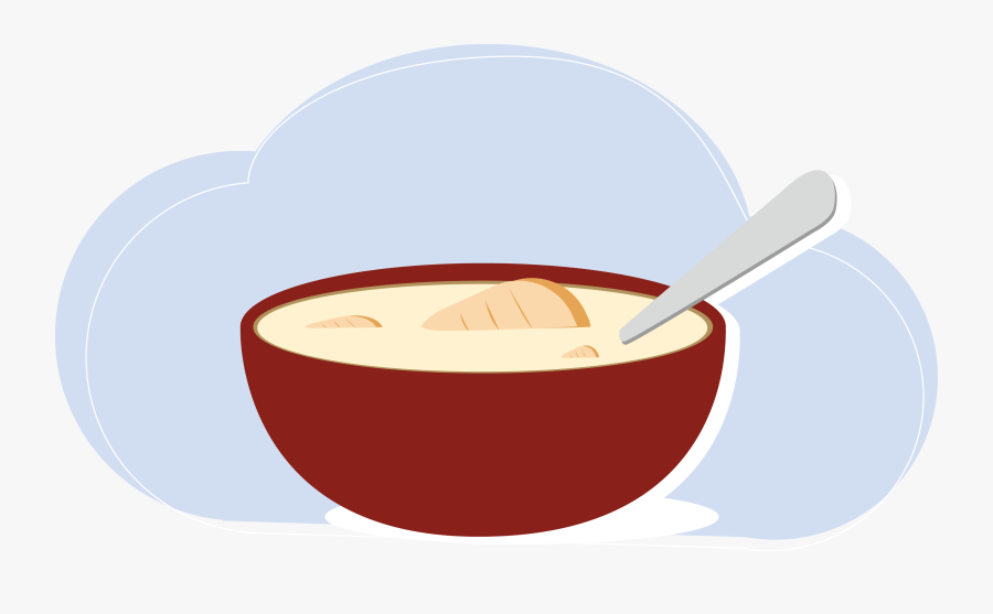 Dishes Clipart Milk Bowl , Transparent Cartoons , Free.