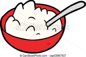 Bowl of oatmeal clipart 6 » Clipart Portal.