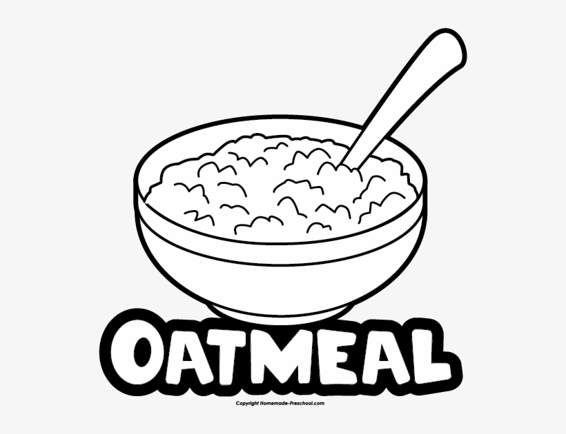 Oat Clipart Mixing Bowl.