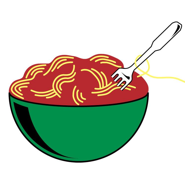 Pasta Bowl Clipart.