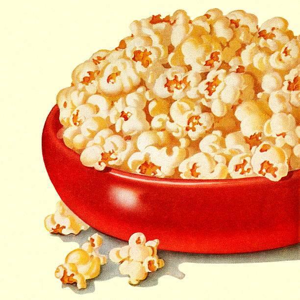 Bowl of Popcorn » Clipart Portal.