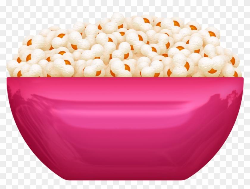 Bowl Of Popcorn.