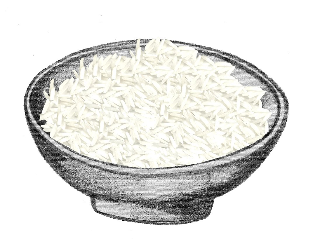 Rice Bowl Clipart.