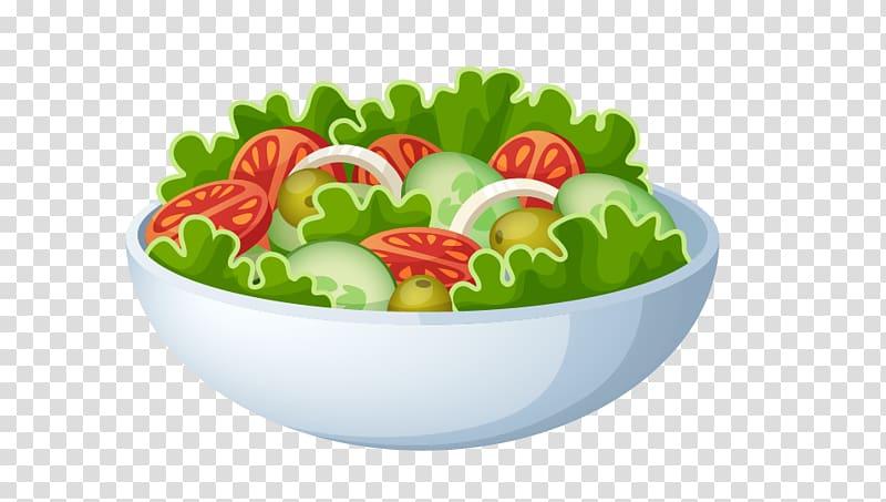 Fruit salad Greek salad Cooking, A bowl of vegetable salad.