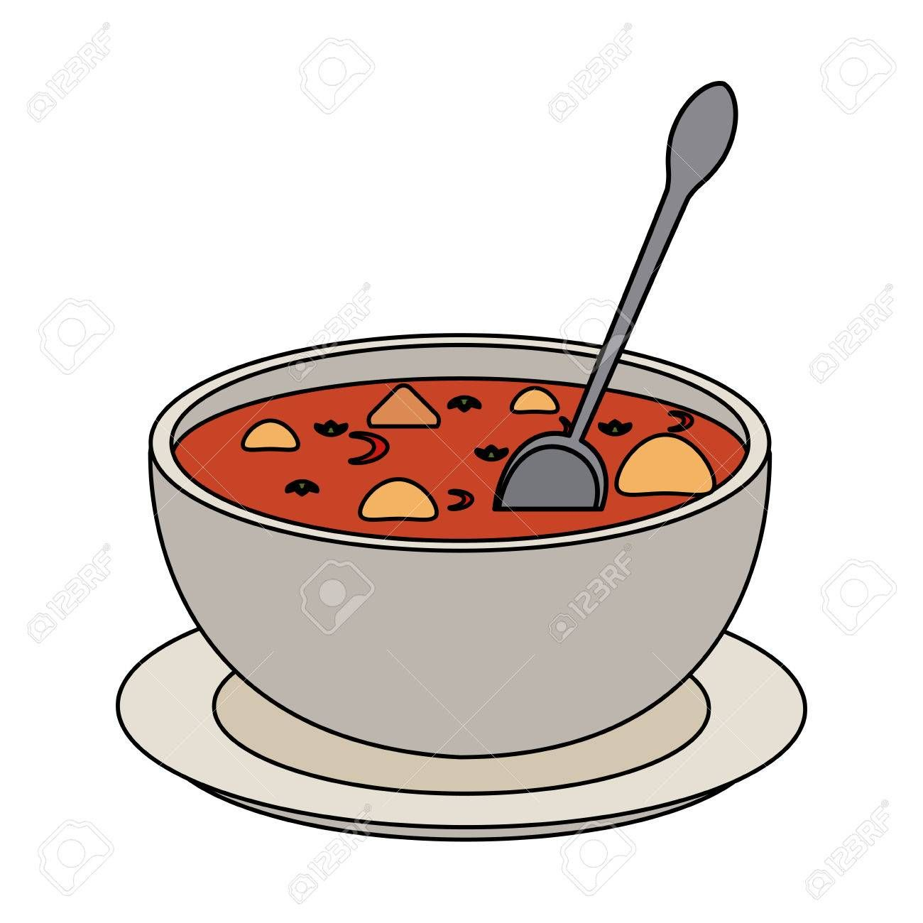 Image result for clipart of soup bowls.