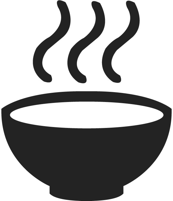 Soup bowl clipart.