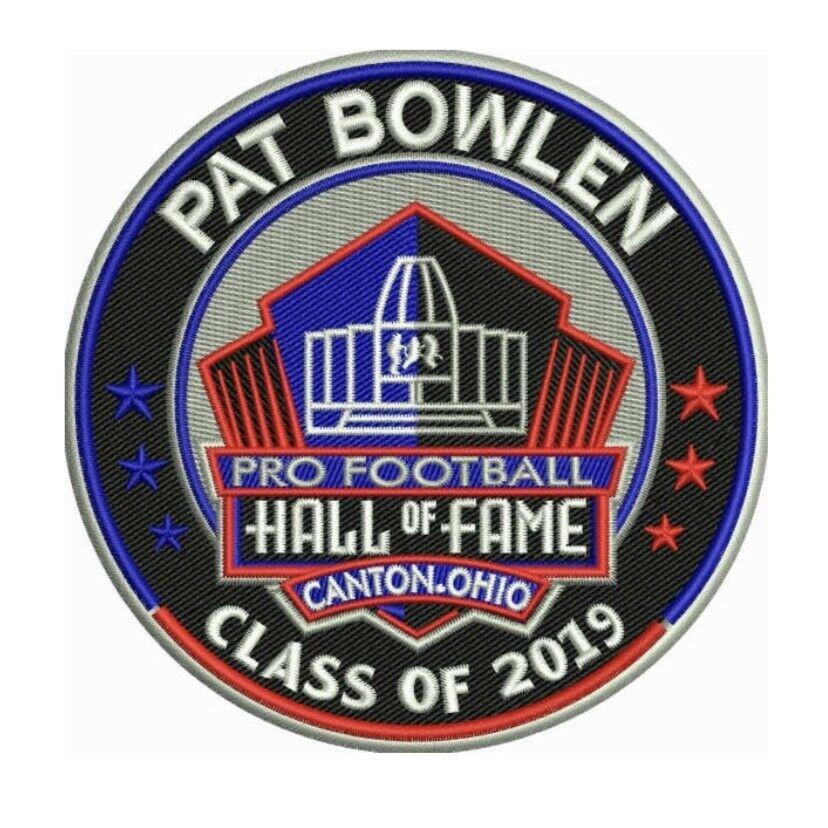 Details about PAT BOWLEN 2019 NFL HALL OF FAME PATCH HOF FOOTBALL DENVER  BRONCOS IN MEMORIAM.