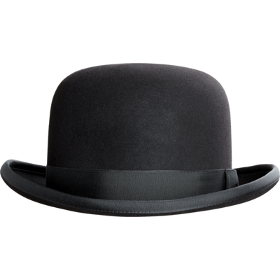 Bowler Hat Photo transparent PNG.