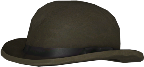 Bowler Hat PNG Free File Download.