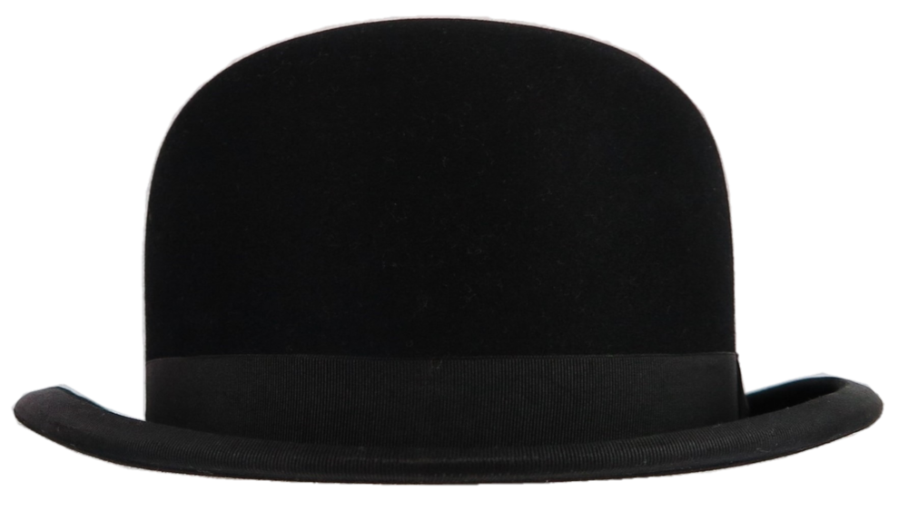 Bowler hat PNG.