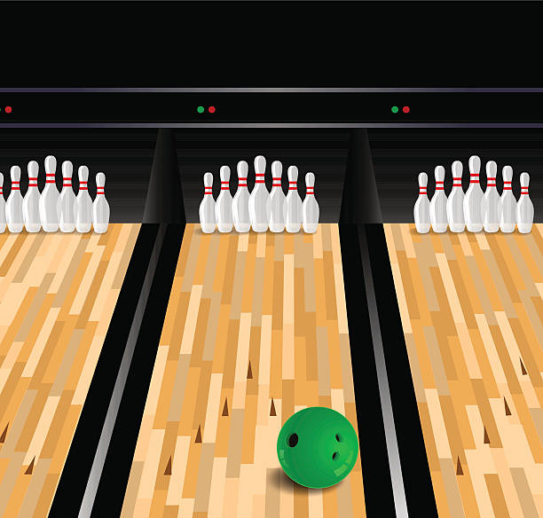 Best Bowling Alley Floor Illustrations, Royalty.