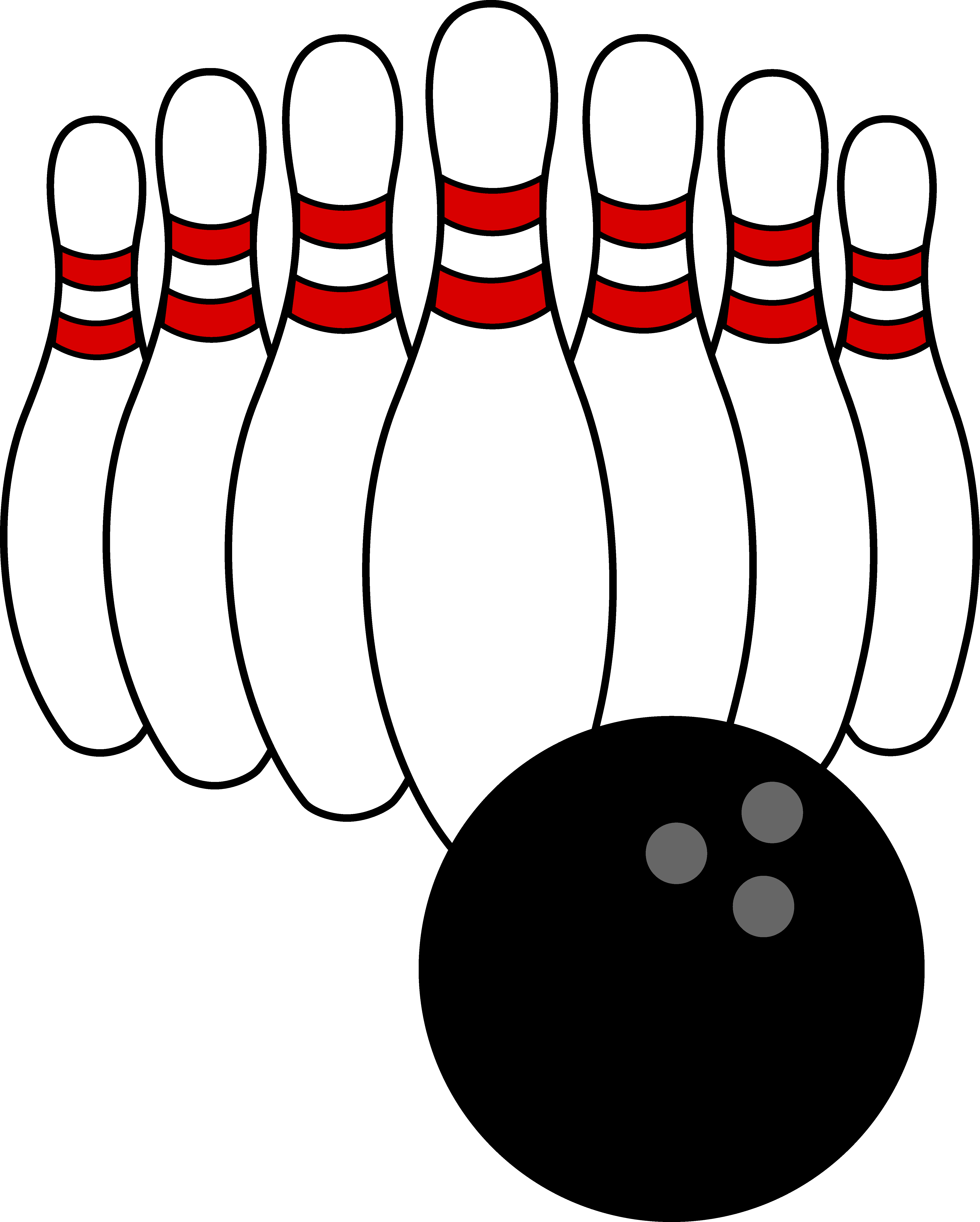 Best Bowling Clipart #7613.