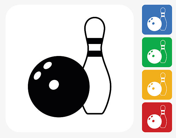 Best Bowling Ball And Pins Illustrations, Royalty.