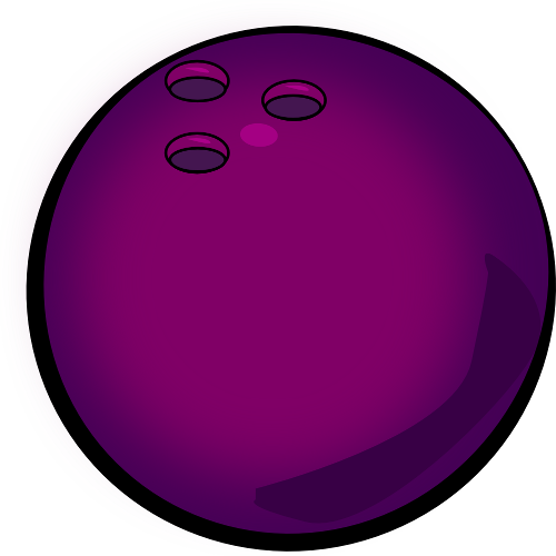 Bowling Ball On Fire Clipart.