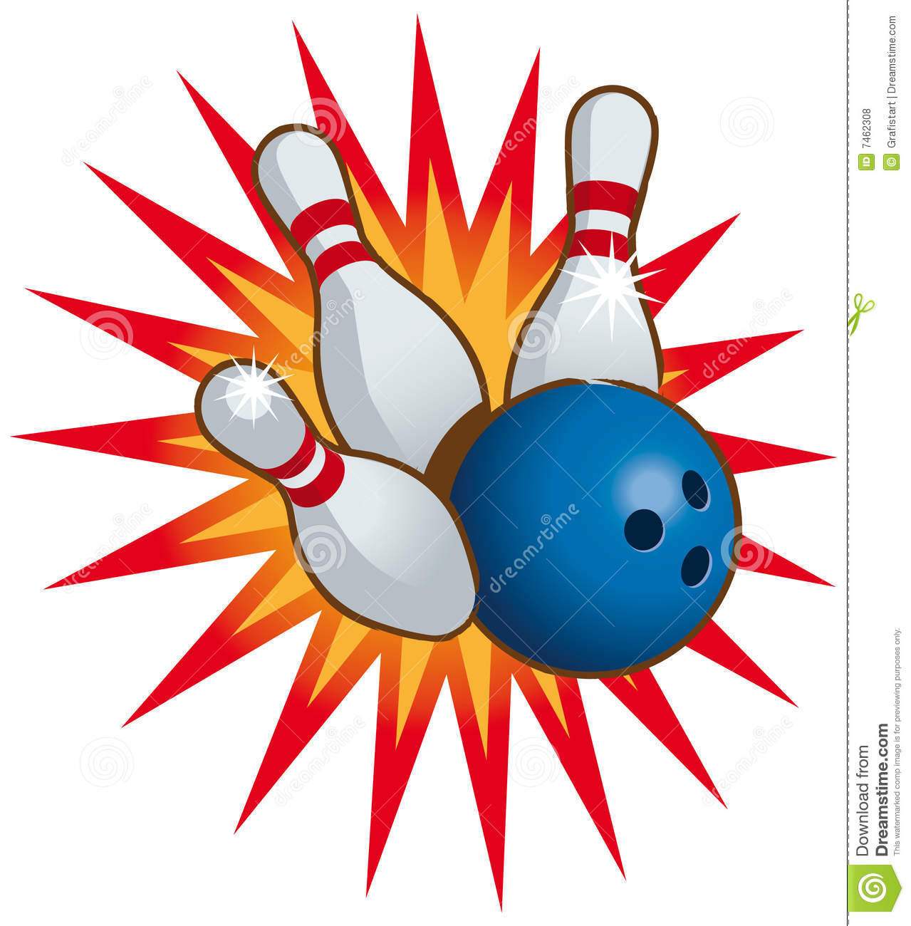 704 Bowling Ball free clipart.