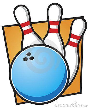 Bowling Ball and Pins.