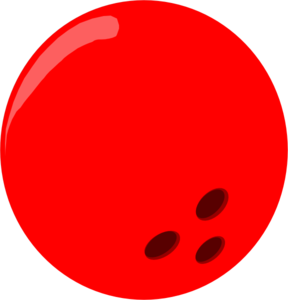 Free clipart bowling ball.