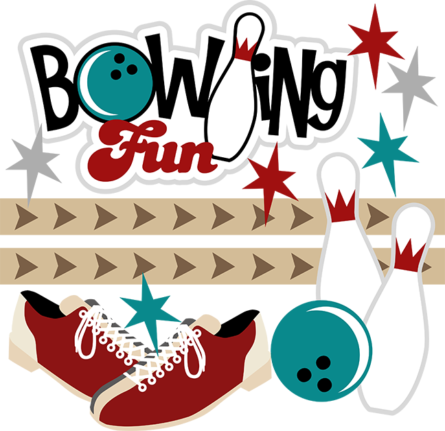 Funny Bowling Clipart.