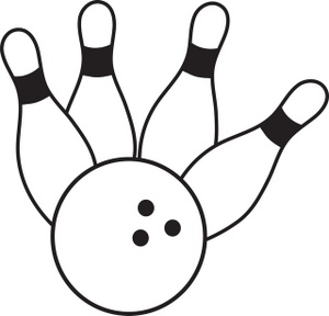 Free Bowling Clipart Printable.