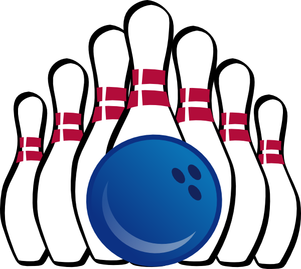 Bowling ball bowling pin and ball clip art bowling cliparts image.
